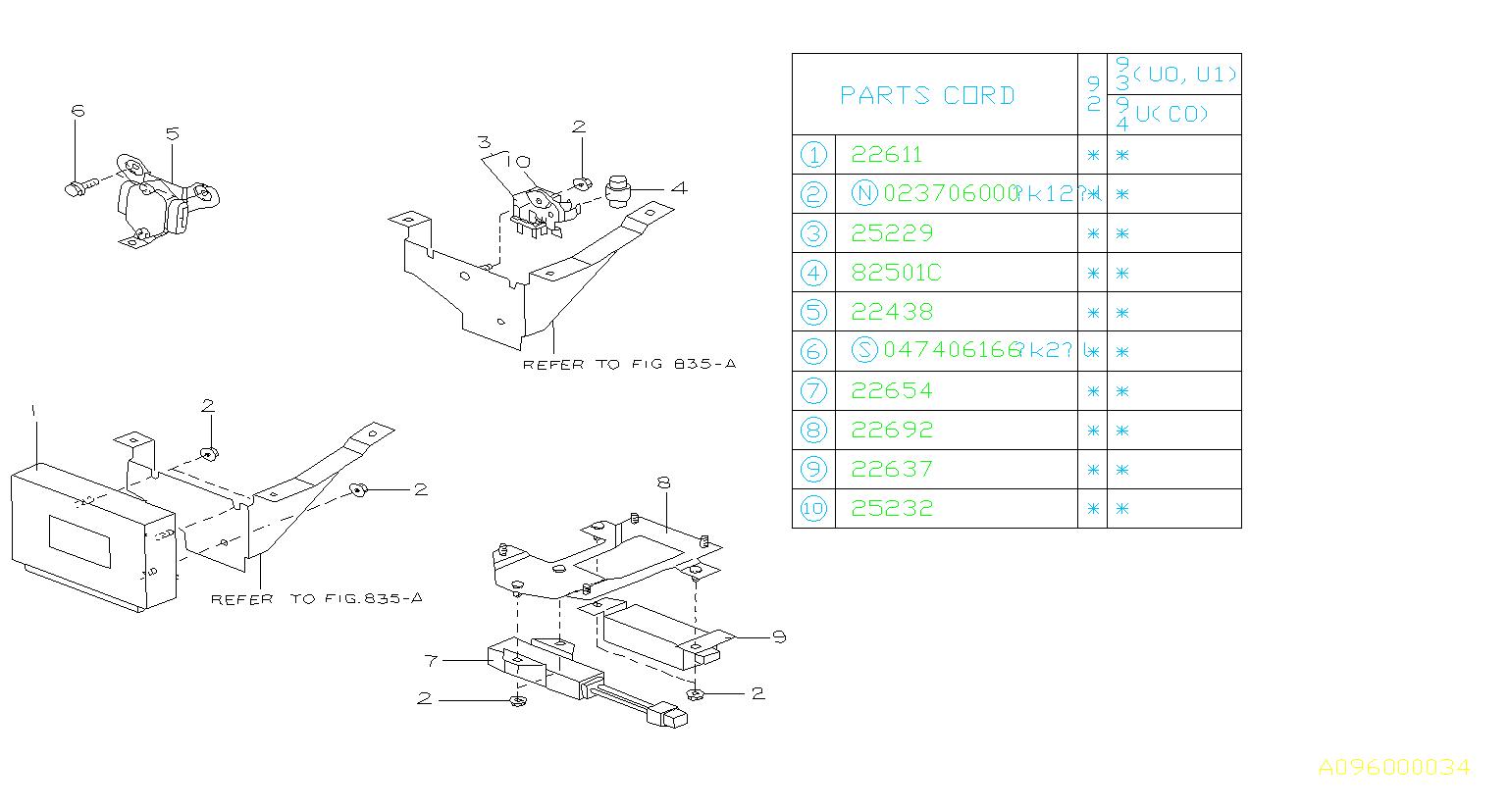 Subaru Svx Fuel Pump Relay  1x  1y  For Ignition  Engine