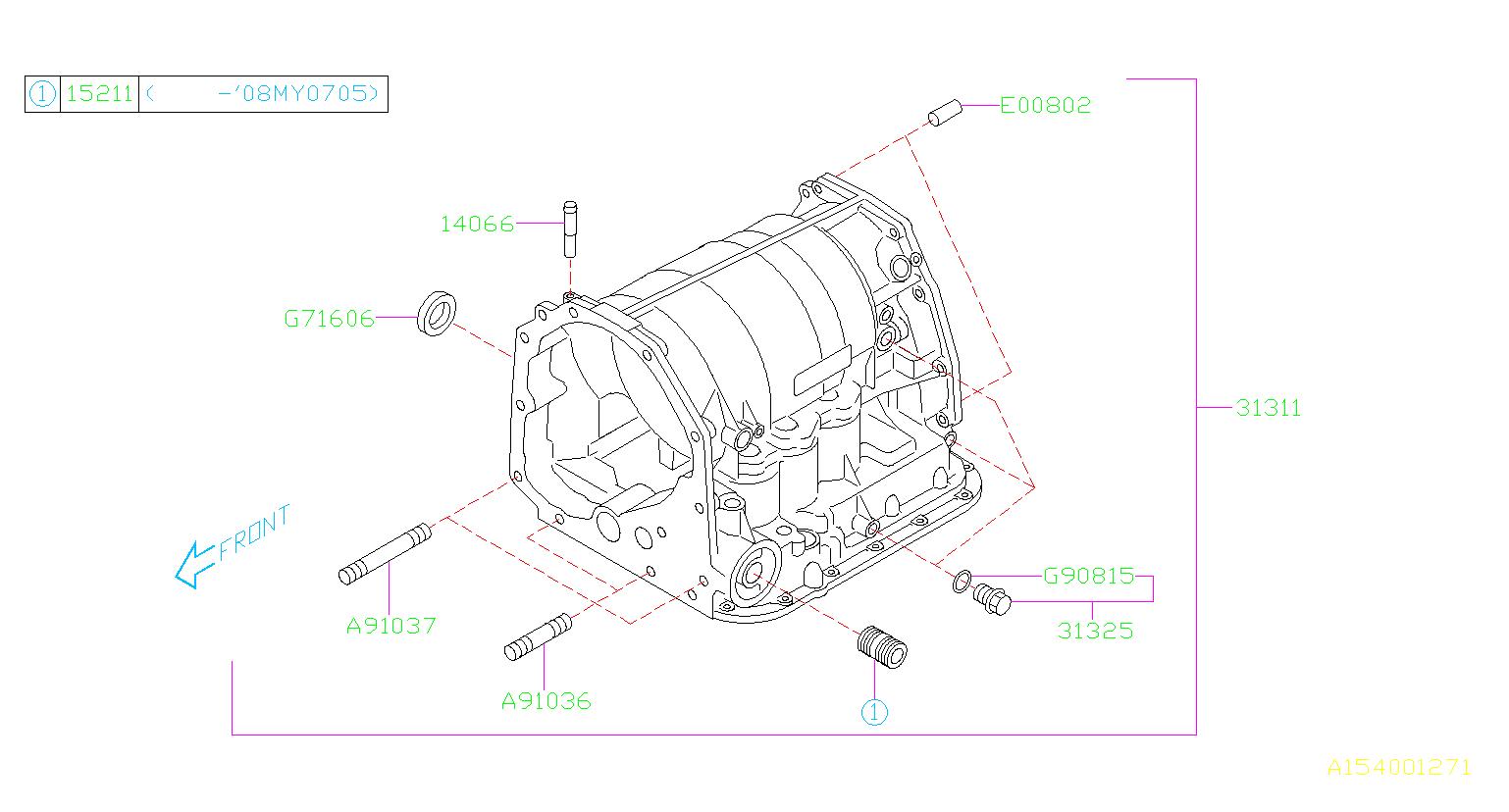 subaru impreza stud oil filter m 928537 transmission. Black Bedroom Furniture Sets. Home Design Ideas