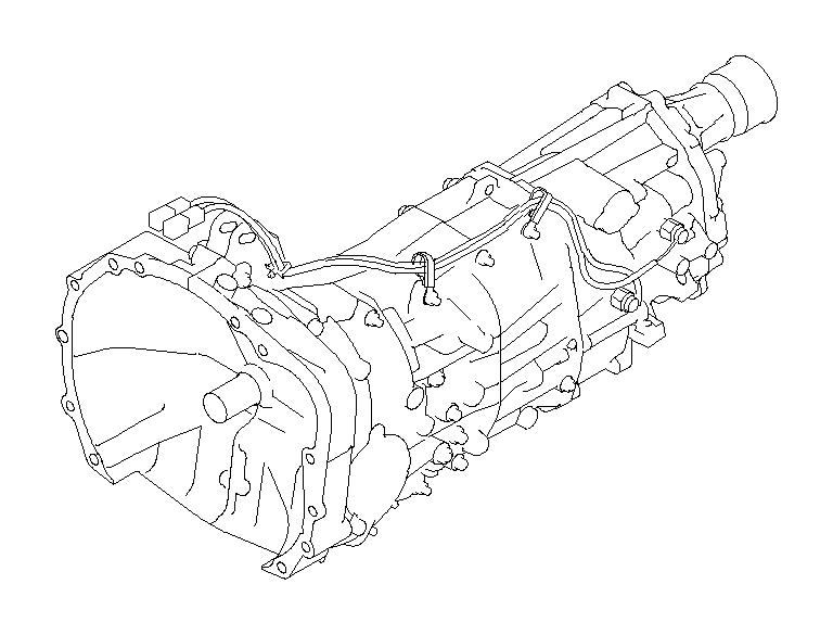 Subaru Outback Manual Transmission Assembly