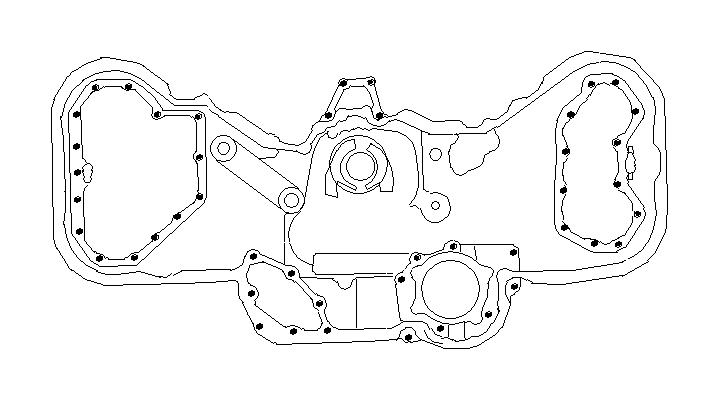 2006 subaru outback bolt-socket  belt  cover  timing