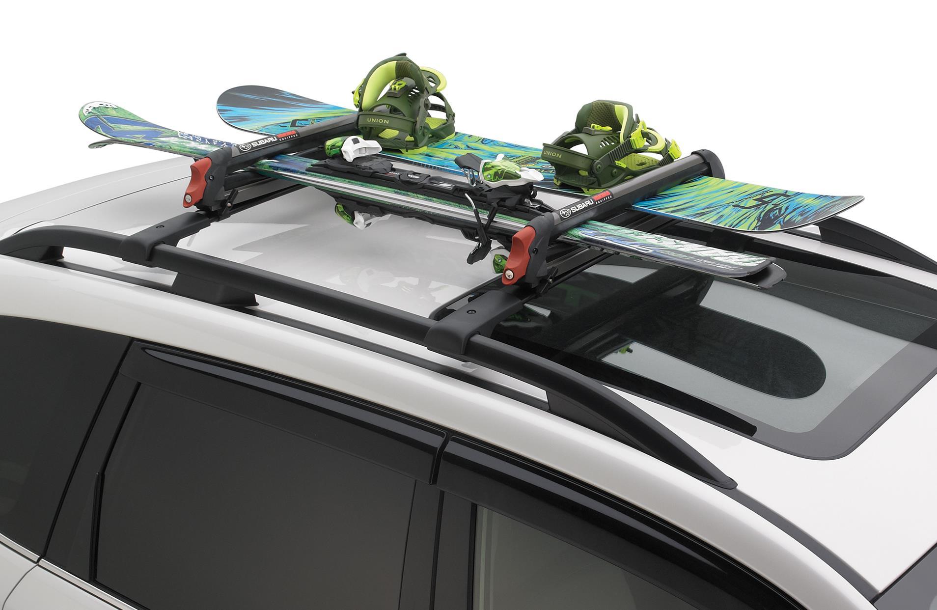 2015 subaru impreza ski carrier with foam pad yakima. Black Bedroom Furniture Sets. Home Design Ideas