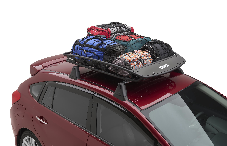 2017 subaru forester thule heavy duty cargo basket easy. Black Bedroom Furniture Sets. Home Design Ideas