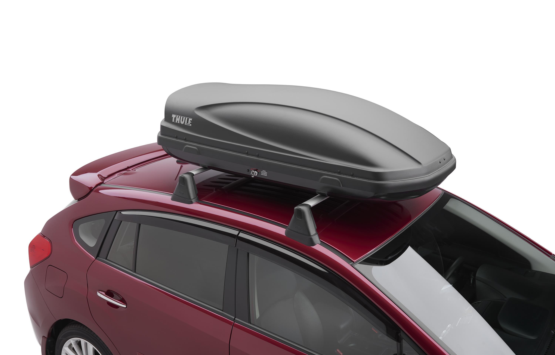 2017 subaru crosstrek roof cargo carrier provides side. Black Bedroom Furniture Sets. Home Design Ideas