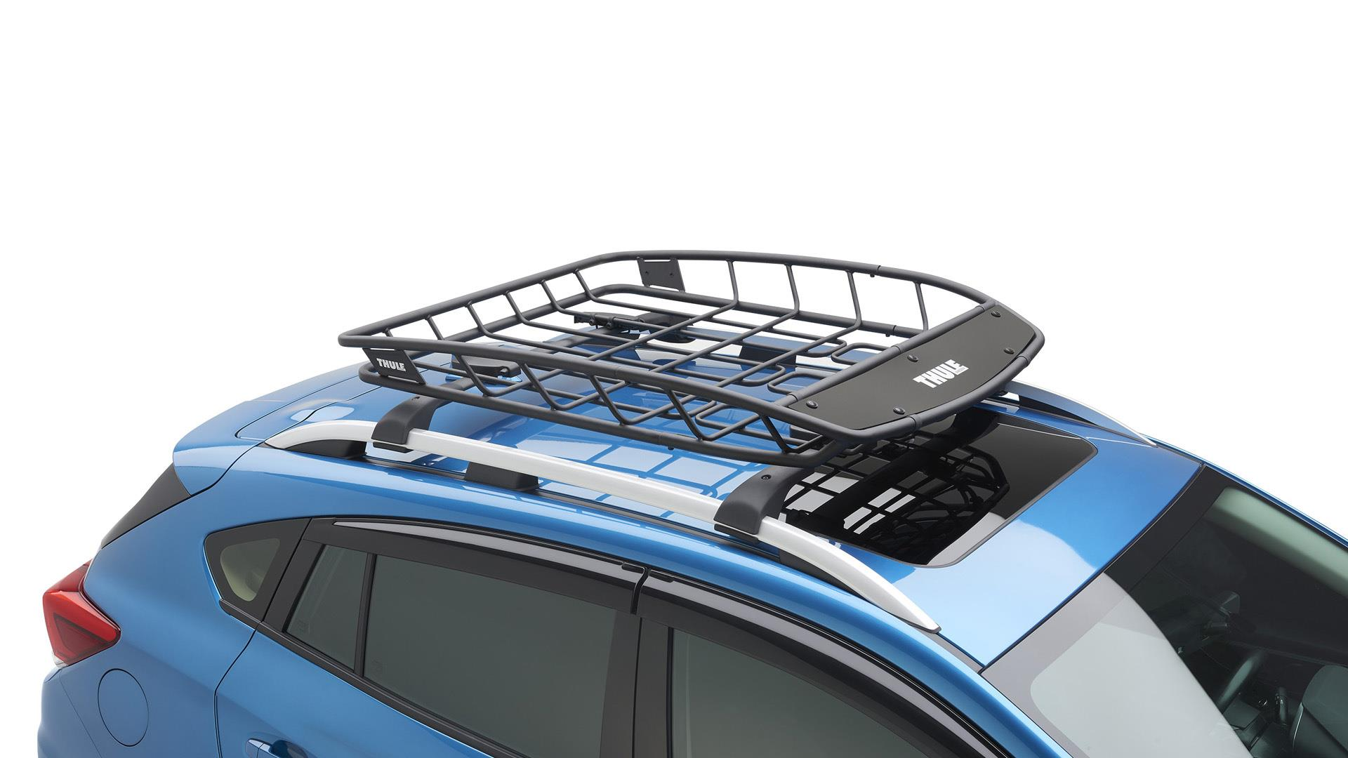 2017 subaru outback thule heavy duty cargo basket easy. Black Bedroom Furniture Sets. Home Design Ideas