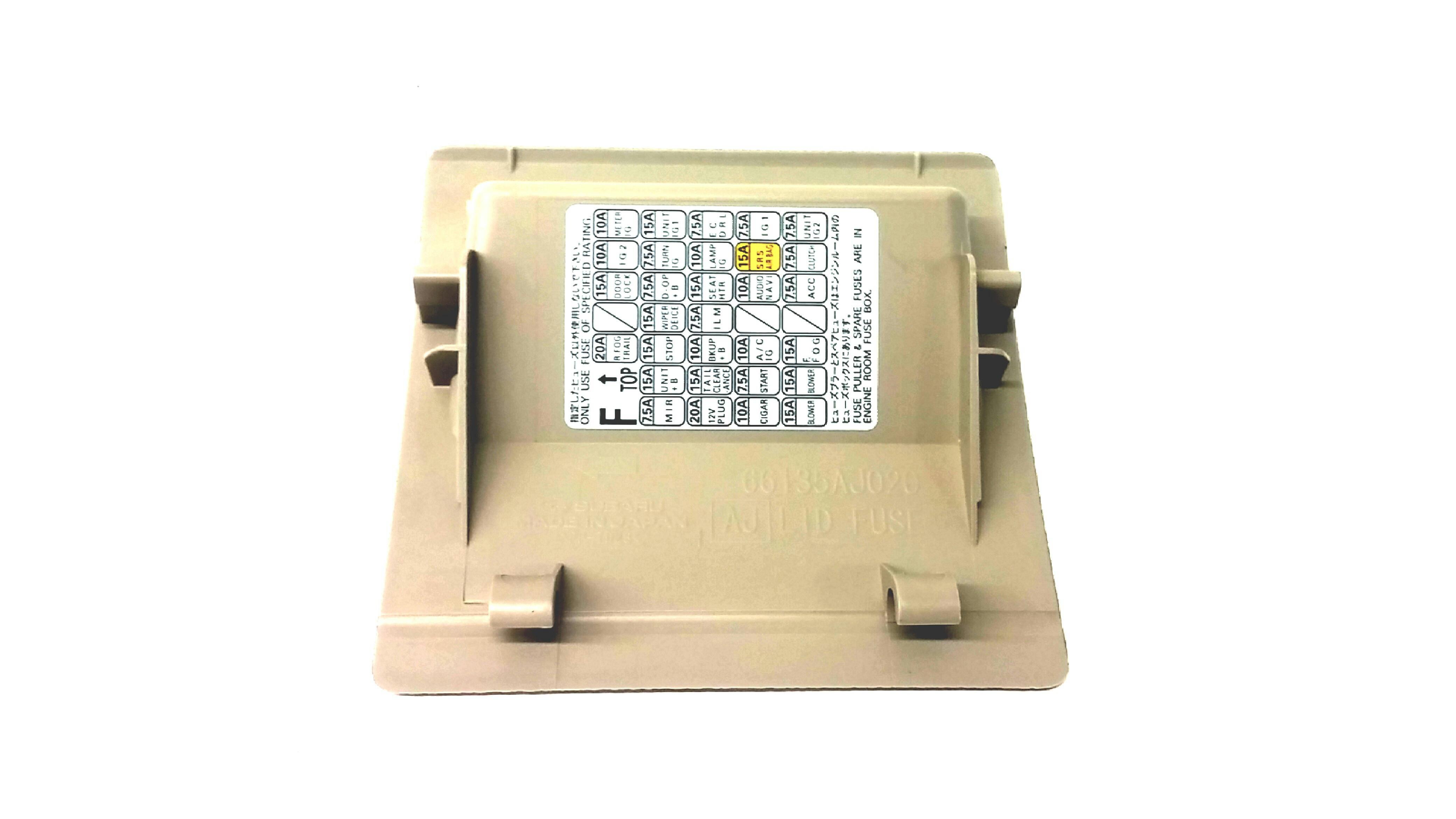 subaru crosstrek fuse box 2014 subaru crosstrek lid assembly-fuse box - 66135fj010wj ... subaru impreza fuse box layout #4